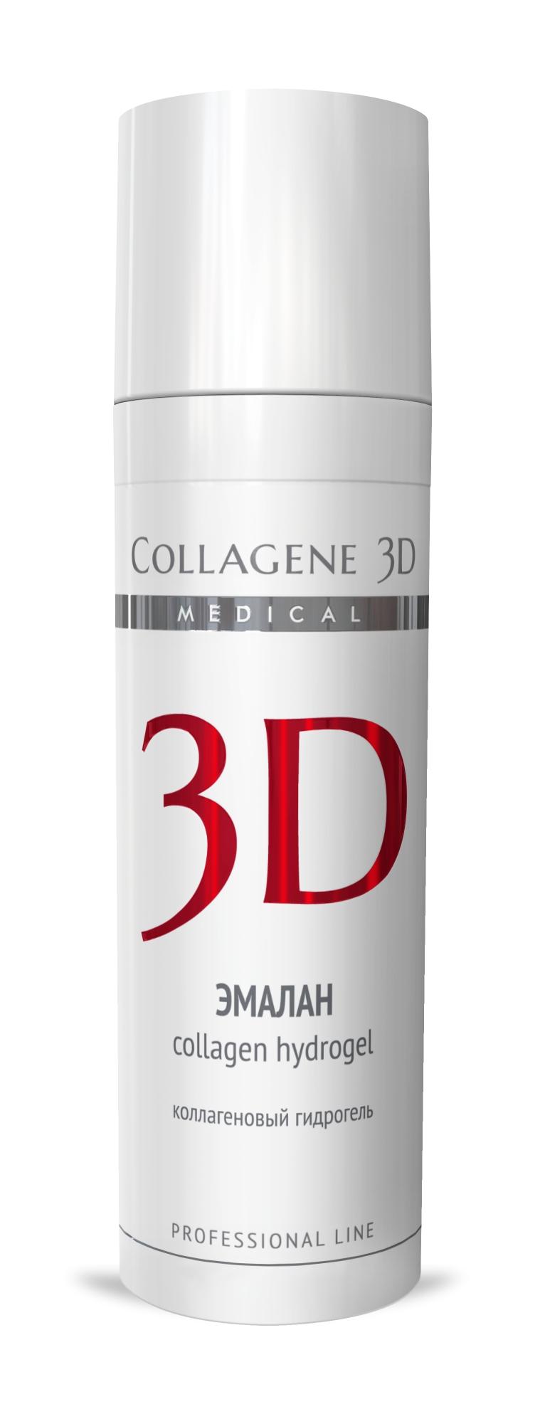 MEDICAL COLLAGENE 3D Гидрогель коллагеновый с аллантоином, димексидом Эмалан 30мл проф.Гели<br>Коллагеновый гидрогель, созданный для лечения любых патологий кожи и слизистых. Применяют - в период реабилитации после агрессивных и инвазивных косметических процедур, для лечения кожных заболеваний: угревой болезни, псориаза, демодекоза, а также для устранения последствий ожогов, ран, ссадин. Активные ингредиенты: нативный трехспиральный коллаген, эмоксипин, аллантоин, димексид. Способ применения: гель наносят локально на проблемные участки кожи тонким слоем, дают немного подсохнуть, процедуру желательно проводить несколько раз в день.<br>