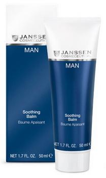 JANSSEN Крем-бальзам смягчающий успокаивающий / Soothing Balm MAN 50 мл ahava успокаивающий увлажняющий крем после бритья time to energize 50 мл