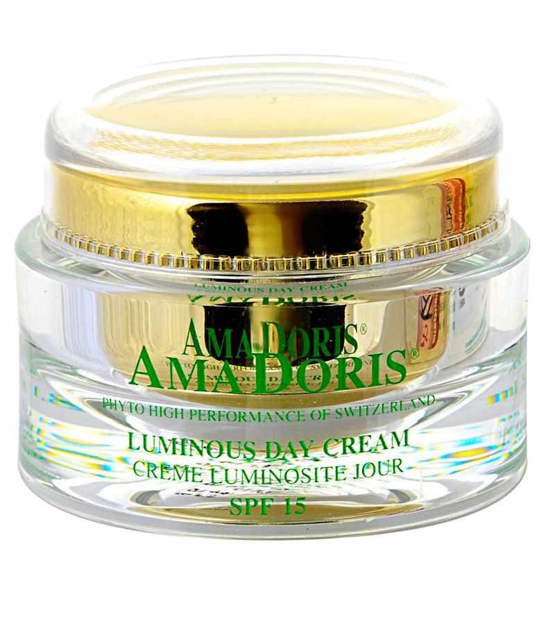 AMADORIS Крем восстанавливающий дневной SPF15 50млКремы<br>В результате научных исследований с целью выявления потребностей сухой, зрелой и чувствительной кожи был разработан этот замечательный крем, содержащий высокоэффективный восстанавливающий комплекс растительных витаминов. Он содержит комбинацию ценных продуктов, питающих и регенерирующих Вашу кожу, и позволяющих бороться с возрастными и преждевременными морщинами. Крем насыщен частичками-фильтрами, которые предотвращают проникновение на кожу опасных солнечных лучей (фактор защиты от солнца 15). Нанасение крема сопровождается ощущениями комфорта и моментального чувства смягчения кожи. Исчезает ощущение стягивания, кожа становится гладкой, эластичной, мягкой и насыщается витаминами.  Активные ингредиенты: Пререген, иммусель, гуалуроновая кислота, фукогель, Д-пантенол, пентавитин, витамин Е, каррагенан, экстракты: алоэ-вера, эдельвейса, женьшеня. Способ применения: Наносить мягкими круговыми движениями на послностью очищенную и обработанную тоником кожу до полного впитывания.<br><br>Объем: 50<br>Вид средства для лица: Восстанавливающий<br>Назначение: Морщины<br>Время применения: Дневной