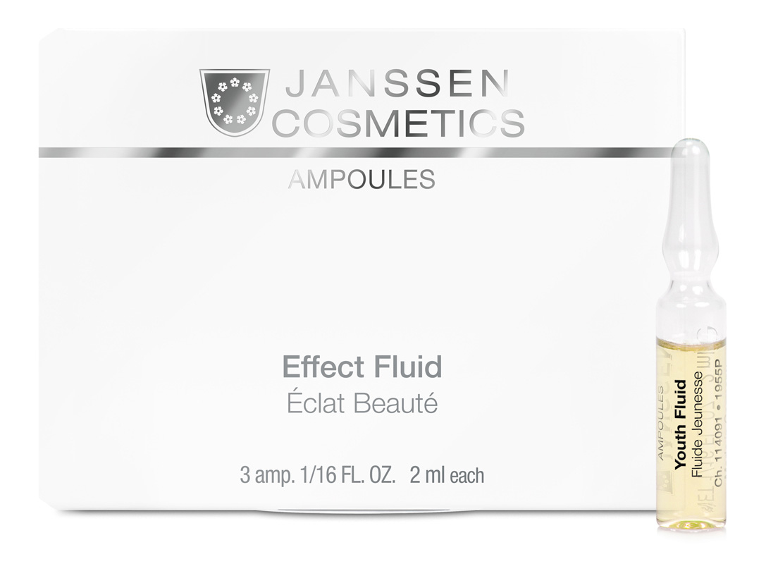 JANSSEN Концентрат ампульный Ревитализирующая сыворотка / Youth Fluid SKIN EXCEL 3*2 мл - Ампулы