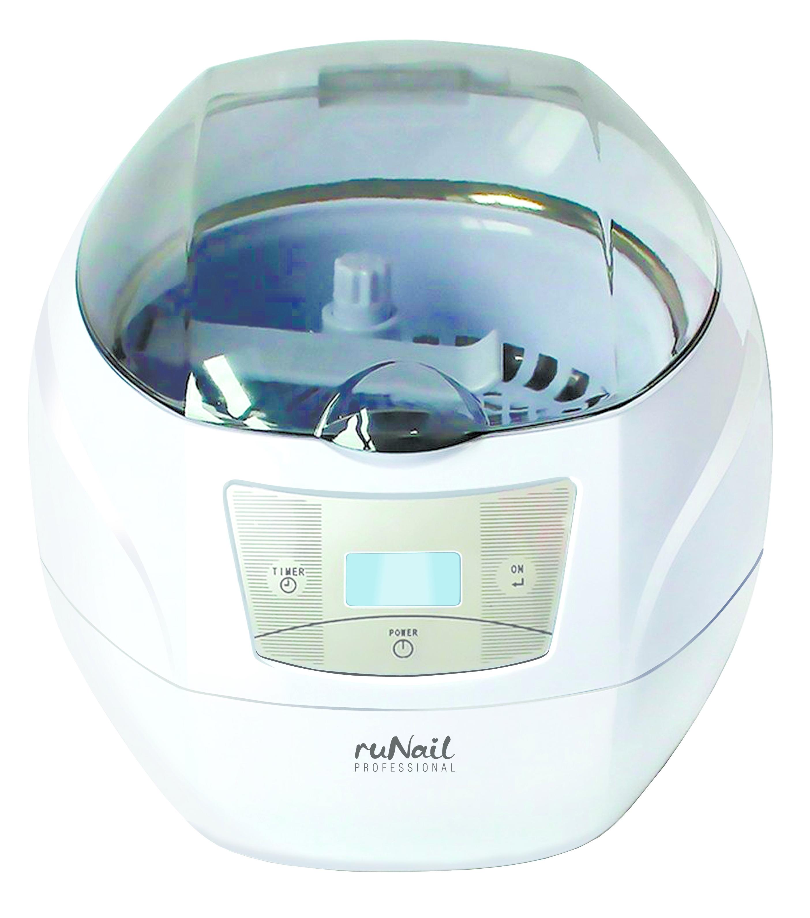 RuNail Прибор ультразвуковой для стерилизации инструментов 35 Вт 750 мл