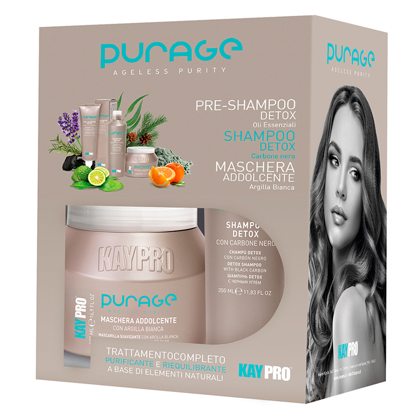 KAYPRO Набор для волос / PURAGE AGELESS PURITY