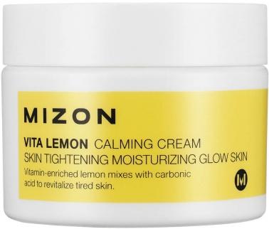 Купить MIZON Крем успокаивающий с экстрактом лимона и витамином С для лица / Vita Lemon Calming Cream 50 мл