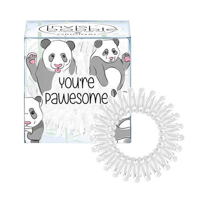 INVISIBOBBLE Резинка-браслет для волос / ORIGINAL You're Pawesome! invisibobble резинка браслет для волос queen of the jungle