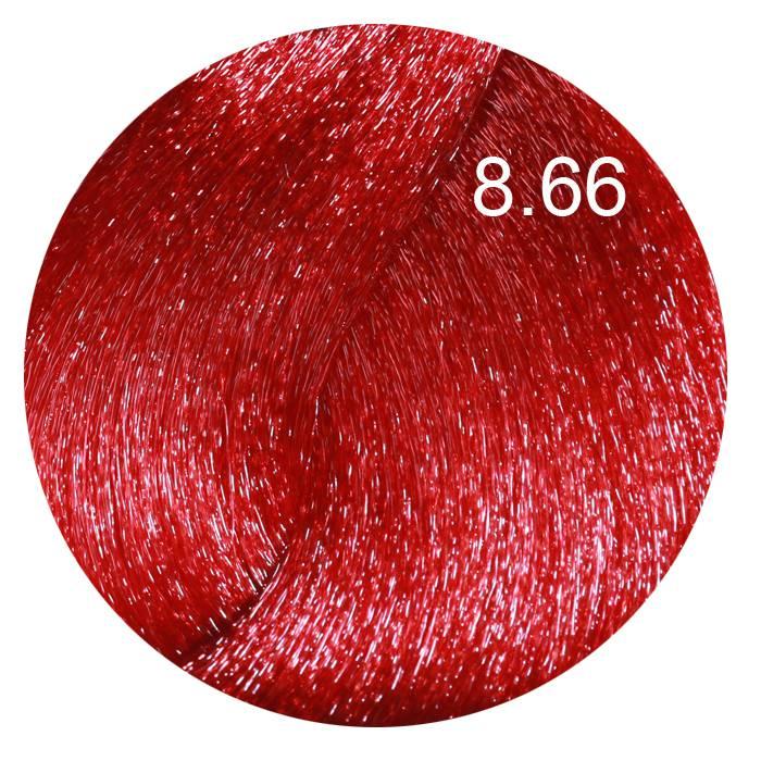 FARMAVITA 8.66 краска для волос, светлый блондин насыщенный красный / LIFE COLOR PLUS 100 мл