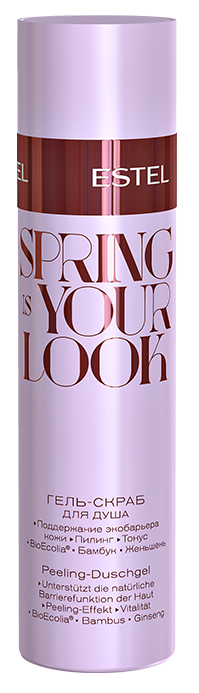 ESTEL PROFESSIONAL Гель-скраб для душа / Spring Is Your Look 200 мл -  Гели для душа
