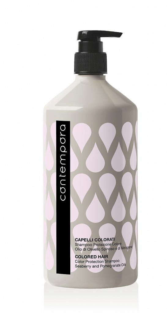 BAREX Шампунь для сохранения цвета, с маслом облепихи и маслом граната / CONTEMPORA 1000 мл