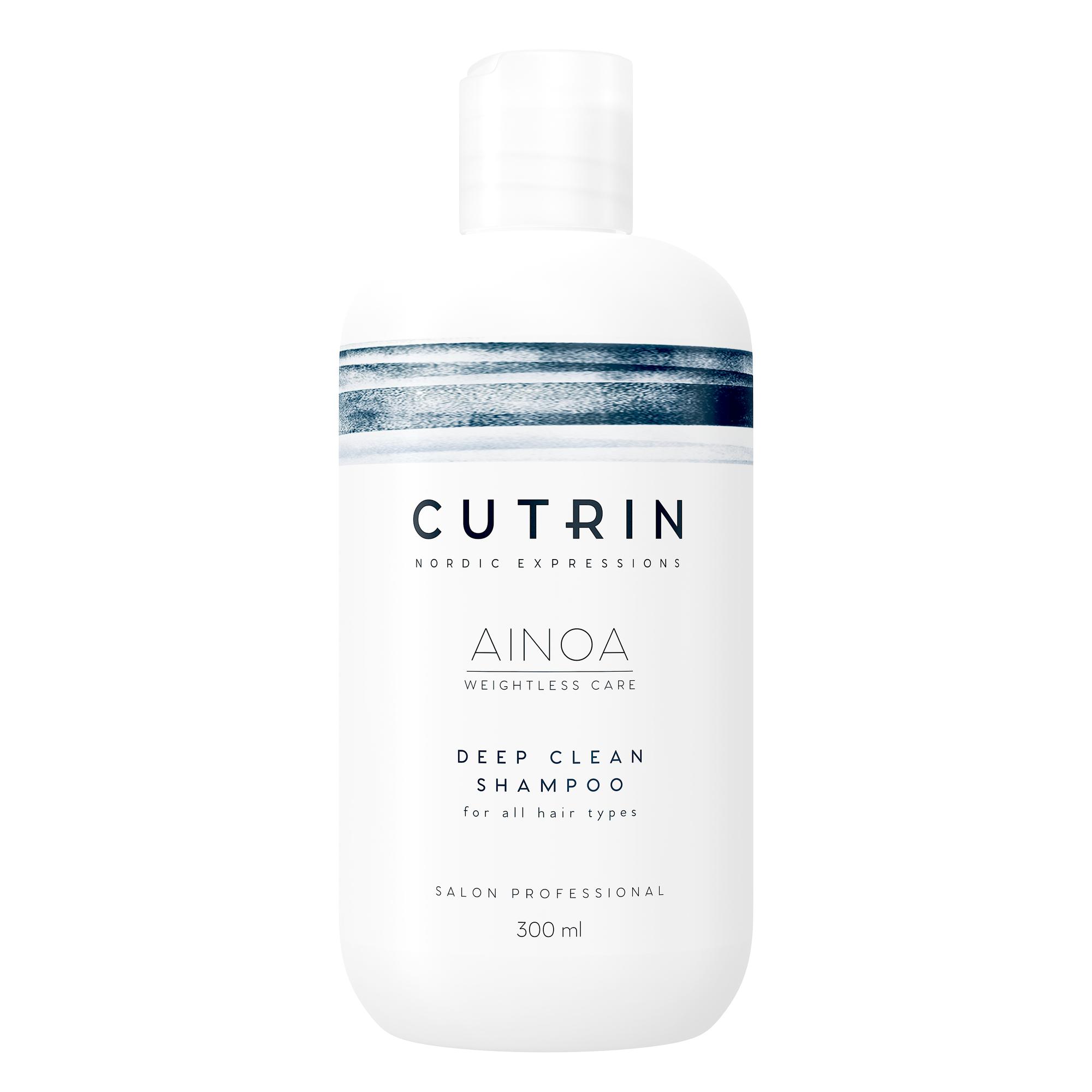 Купить CUTRIN Шампунь для глубокого очищения / AINOA DEEP CLEAN 300 мл