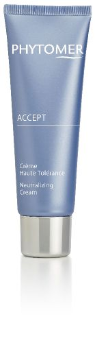 PHYTOMER Крем нейтральный / Accept Neutralizing Cream 50млКремы<br>Для ухода за реактивной кожей, склонной к аллергическим проявлениям. Эффективно устраняет раздражение, уменьшает проявления эритемы, успокаивает кожу и способствует восстановлению защитного барьера. Уменьшает проявление отечности. Активные ингредиенты:&amp;nbsp; DRIELINE  , экстракт дрожжей, лецитин, экстракт кораллины  . Способ применения: наносить на очищенную кожу лица утром и вечером<br><br>Объем: 50 мл<br>Типы кожи: Чувствительная<br>Назначение: Отечность