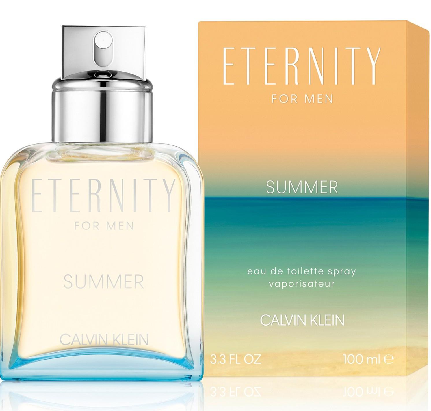 Купить CALVIN KLEIN Вода туалетная мужская Calvin Klein Eternity For Men Summer Le 100 мл