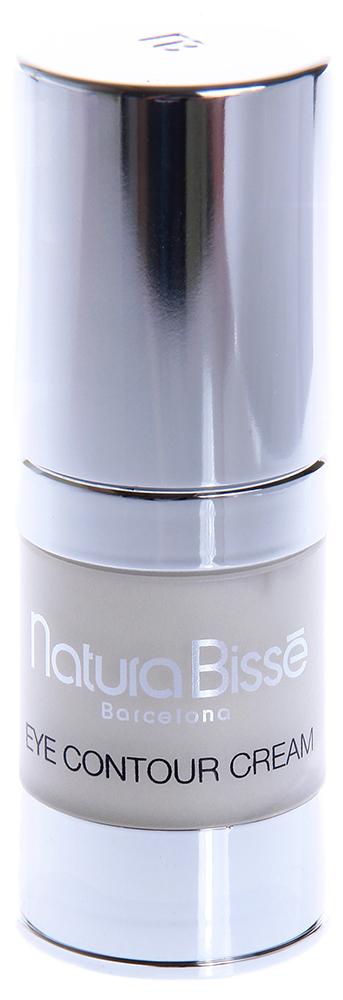 NATURA BISSE Крем для ухода за областью вокруг глаз SPF10 / Cream EYE COUNTOR TREATMENT 15млКремы<br>Кожа вокруг глаз очень тонкая, нежная и требует особого ухода. Eye Contour Cream увлажняет и восстанавливает эластичность кожи в этой области. Природные аминокислоты эластина высокой степени очистки в свободной форме возвращают коже эластичность, в то время как успокаивающее масло авокадо (богатое витаминами A+D+E), белки сои и масло ростков пшеницы (богатое витамином Е) увлажняют и защищают тонкую кожу вокруг глаз. Eye Contour Cream содержит SPF 10, предохраняющий кожу от негативного воздействия солнечного излучения. Активные ингредиенты (состав): Water (Aqua), Cetearyl Ethylhexanoate, Caprylic/Capric Triglyceride, C12-20 Acid PEG-8 Ester, Hydrolyzed Soy Protein, Glycerin, Butyrospermum Parkii (Shea) Butter, Glyceryl Stearate, Tribehenin, Triticum Vulgare (Wheat) Germ Oil, Persea Gratissima (Avocado) Oil, Hydrolyzed Elastin, Sodium Chondroitin Sulfate, Dimethicone, Triethanolamine, Carbomer, Tocopheryl Acetate, Allantoin, Ethylhexylglycerin, Sodium Polyacrylate, Disodium EDTA, Ascorbyl Palmitate, BHT, Sorbic Acid, Methylisothiazolinone, Phenoxyethanol, Fragrance (Parfum), Limonene, Geraniol, Hydroxycitronellal, Linalool, Citronellol, Cinnamyl Alcohol, Citral, Caramel, Yellow 5 (CI 19140). Способ применения: наносить на кожу век утром легкими массирующими движениями до полного впитывания.<br><br>Объем: 15<br>Вид средства для лица: Природные<br>Типы кожи: Чувствительная
