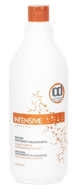 Купить CONSTANT DELIGHT Маска с экстрактом кашемира, защита цвета окрашенных волос / INTENSIVE 1000 мл