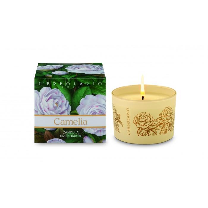 LERBOLARIO Свеча ароматизированная Камелия