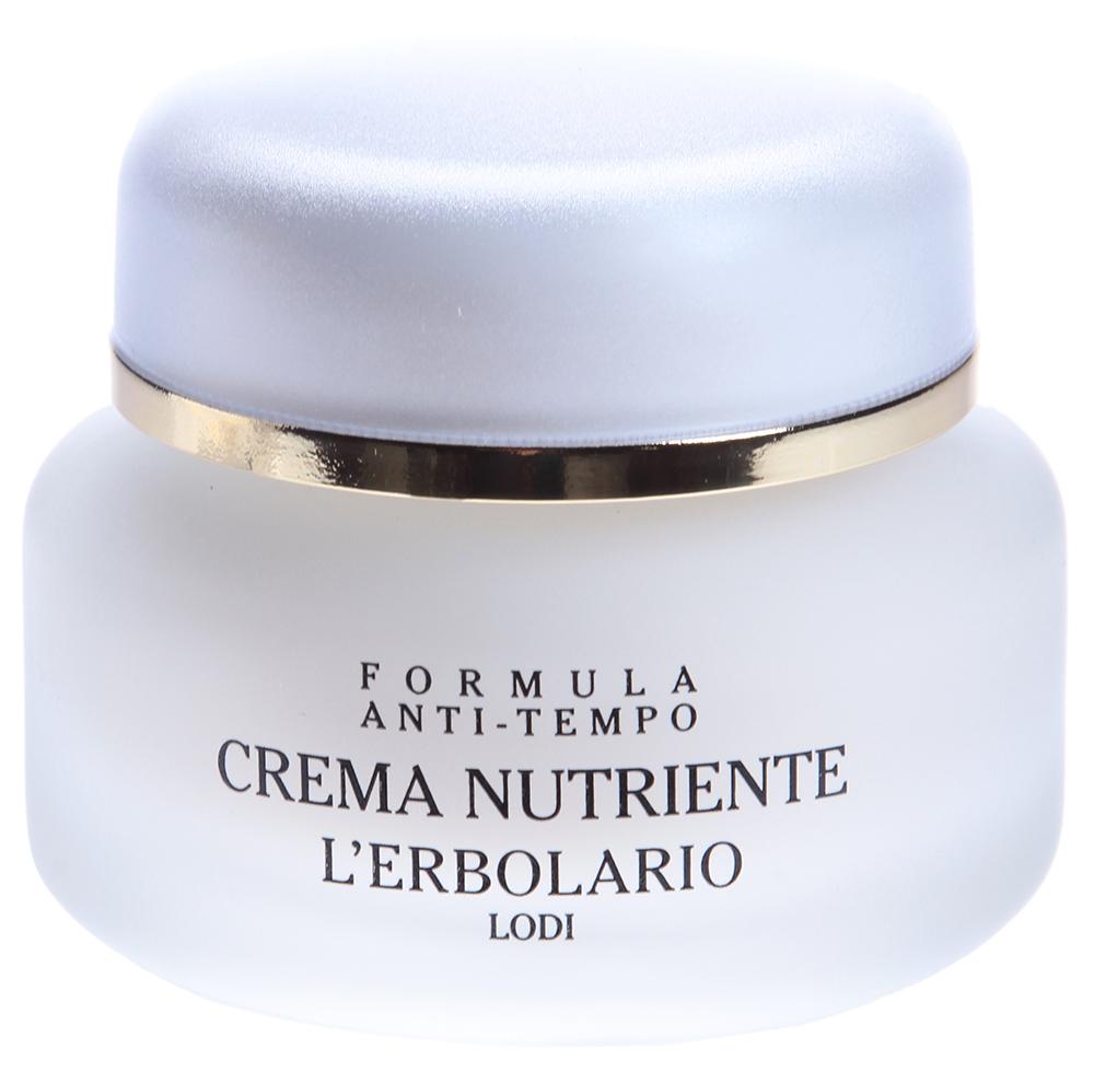 LERBOLARIO Крем питательный с маслом авокадо 40 млКремы<br>Питательный крем с маслом авокадо представляет собой настоящий источник питания для кожи. Крем содержит в большом количестве масло авокадо, витамин Е и витамин В5. Масло авокадо известно как одно из самых действенных защитных и смягчающих кожу средств. Благодаря своему сходству с естественными липидами оно смягчает кожу и оказывает необыкновенно полезное действие по удержанию воды в кожных тканях. Витамин В5 образует комплекс с фарнезилтриацетатом, обладающим необыкновенными свойствами: помогает тканям сохранять свою наилучшую физиологическую форму, оказывает смягчающее и тонизирующее действие, существенно улучшает механические характеристики кожи (эластичность и пластичность), усиливает натяжение тканей, сглаживая складки и морщины, нормализует липидный слой, защищающий кожу, улучшает способность удерживать воду. Все это необходимо во время ночного отдыха, как самой молодой коже, так и той, что переживает период особой усталости. К столь богатому составу крема был добавлен витамин Е, который обладает сильным антиоксидантным действием, уничтожая свободные радикалы.  Активные ингредиенты: Масло авокадо, витамин А, витамин Е, витамин В5, экстракт лимона, пантотеновая кислота.  Способ применения: Перед сном нанести крем на лицо легкими массажными движениями.<br><br>Вид средства для лица: Питательный<br>Возраст применения: После 25<br>Назначение: Морщины