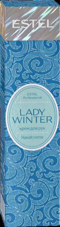 ESTEL PROFESSIONAL Крем для рук / Estel Lady Winter Handcreme 50 млКремы<br>Крем для рук. Ценные масла какао, ши и авокадо обеспечивает коже рук восстановление, увлажнение и комфорт в холодное время года. Восстановление, увлажнение, комфорт для ваших рук. Способ применения: нанести на кожу рук, не смывать.<br><br>Объем: 50 мл