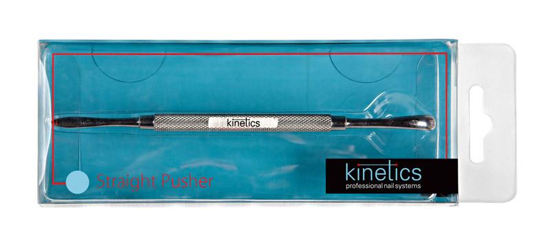 KINETICS Пушер Straight, шт~Особые аксессуары<br>Пушер изготовлен из высококачественной медицинской стали,&amp;nbsp;соответствующей всем медицинским требованиям. Способ применения: используется для подготовки ногтевой пластины перед моделированием<br>