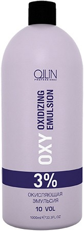 OLLIN PROFESSIONAL Эмульсия окисляющая 3% (10vol) / Oxidizing Emulsion OLLIN performance OXY 1000 мл - Окислители