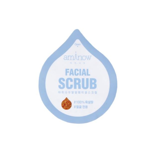 AMINOW Скраб очищающий, восстанавливающий, глубоко увлажняющий / Aminow Sugar Facial Scrub 10 г