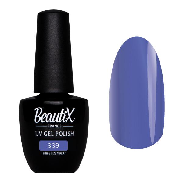 Купить BEAUTIX 339 гель-лак для ногтей 8 мл, Синие