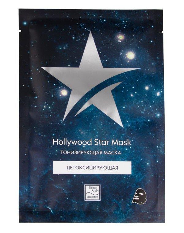 Купить BEAUTY STYLE Маска тканевая детоксицирующая тонизирующая / Hollywood Star Mask 30 г