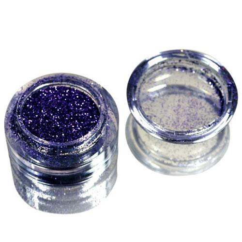 SOLOMEYA Блеск рассыпчатый для дизайна, 009 Фиолетовая пыль