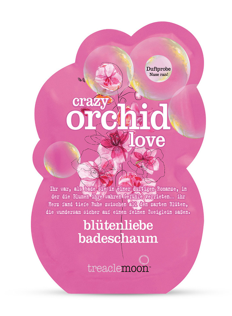 TREACLEMOON Пена для ванны Влюбленная орхидея / Crazy orchid love badescha 80 г фото