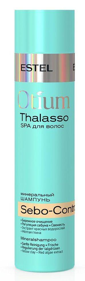 Купить ESTEL PROFESSIONAL Шампунь минеральный для волос / OTIUM THALASSO SEBO-CONTROL 250 мл