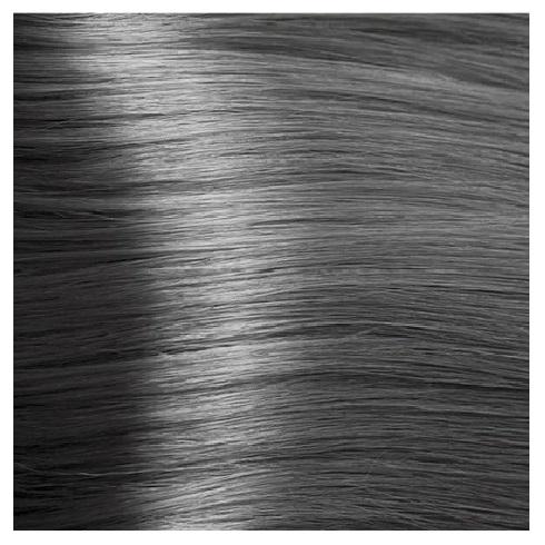 Купить KAPOUS NA 6.011 краска для волос, темный прозрачно-пепельный блонд / Magic Keratin 100 мл