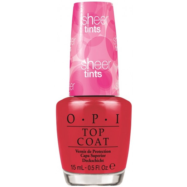 OPI Покрытие верхнее акварельное Be magentale with me / SHEER TINTS 15мл