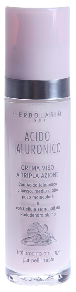 LERBOLARIO Крем с гиалуроновой кислотой для смешанной кожи лица 50мл