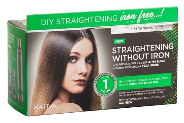 Купить KATIVA Набор для выпрямления волос Экстра-блеск, для тусклых волос / IRON FREE