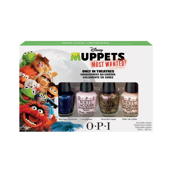 "OPI ���� ���� ""Muppels Most Wanted "" 4*3,75��~"
