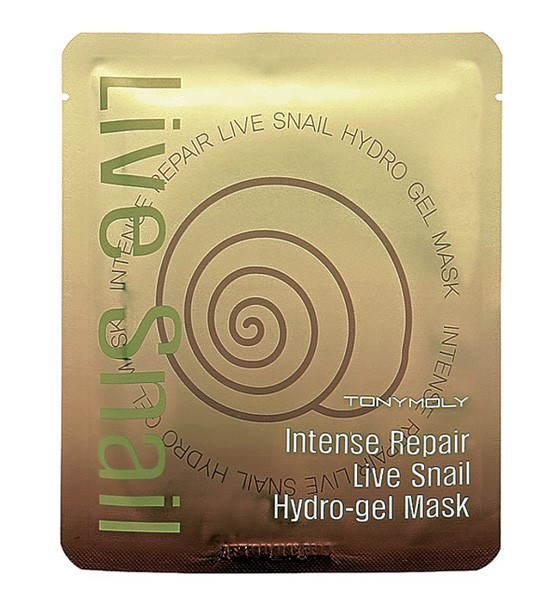 TONYMOLY Маска гидрогелевая для лица / Intense Care Live Snail Gel Mask 25 г