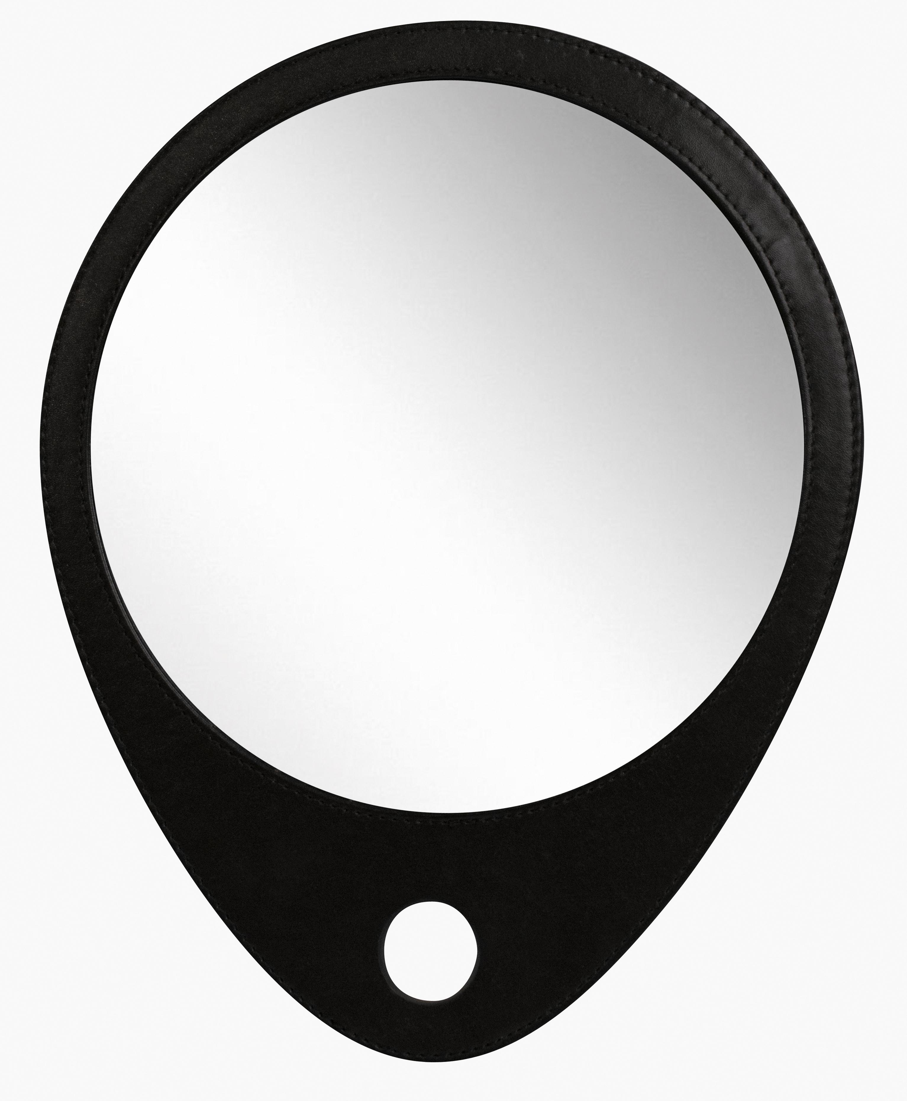 DEWAL PROFESSIONAL Зеркало заднего вида Barber Style, в черной оправе 30,5х25 см