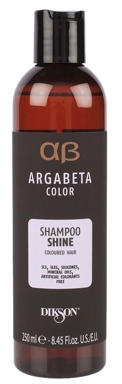 Купить DIKSON Шампунь с маслами черной смородины, виноградных косточек и сладкого миндаля для окрашенных волос / ARGABETA Shampoo SHINE 250 мл