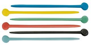 SIBEL Палочки для бигуди 20шт.Бигуди<br>Палочки для бигуди пластмассовые Sibel (цветные, 20 шт/уп) 77 мм.<br>