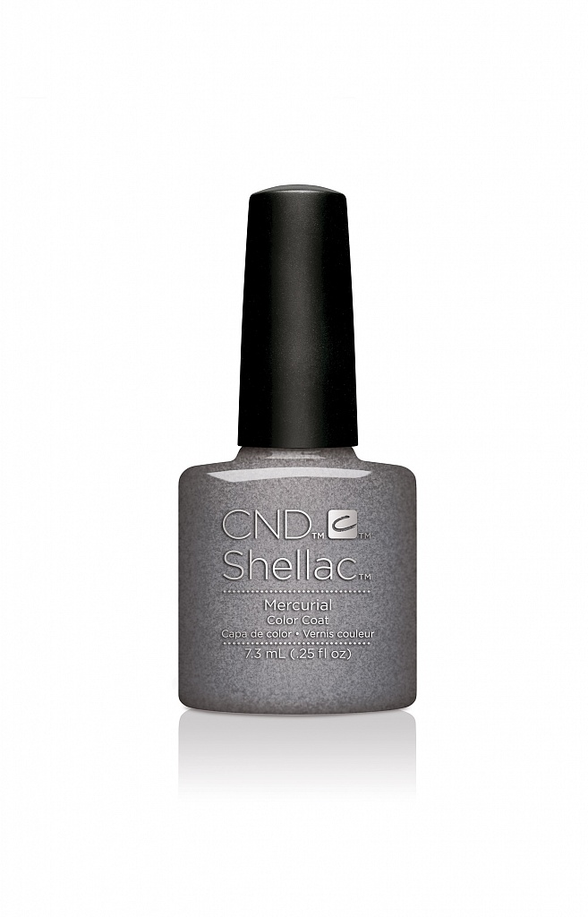 CND 91593 покрытие гелевое Mercurial / SHELLAC 7,3мл cnd 083 покрытие гелевое bare chemise shellac 7 3мл