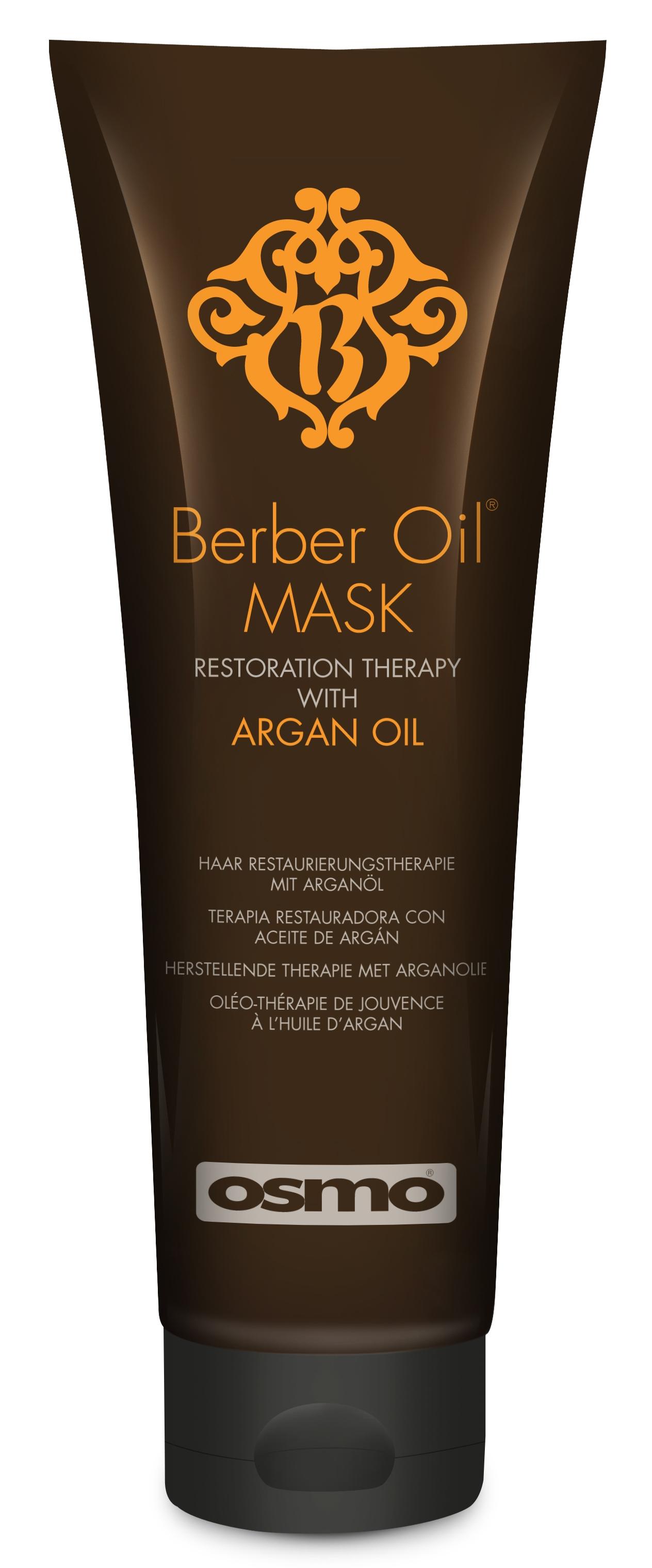 OSMO Маска восстановление и лечение Берберское масло / The Berber Oil Collection 250мл