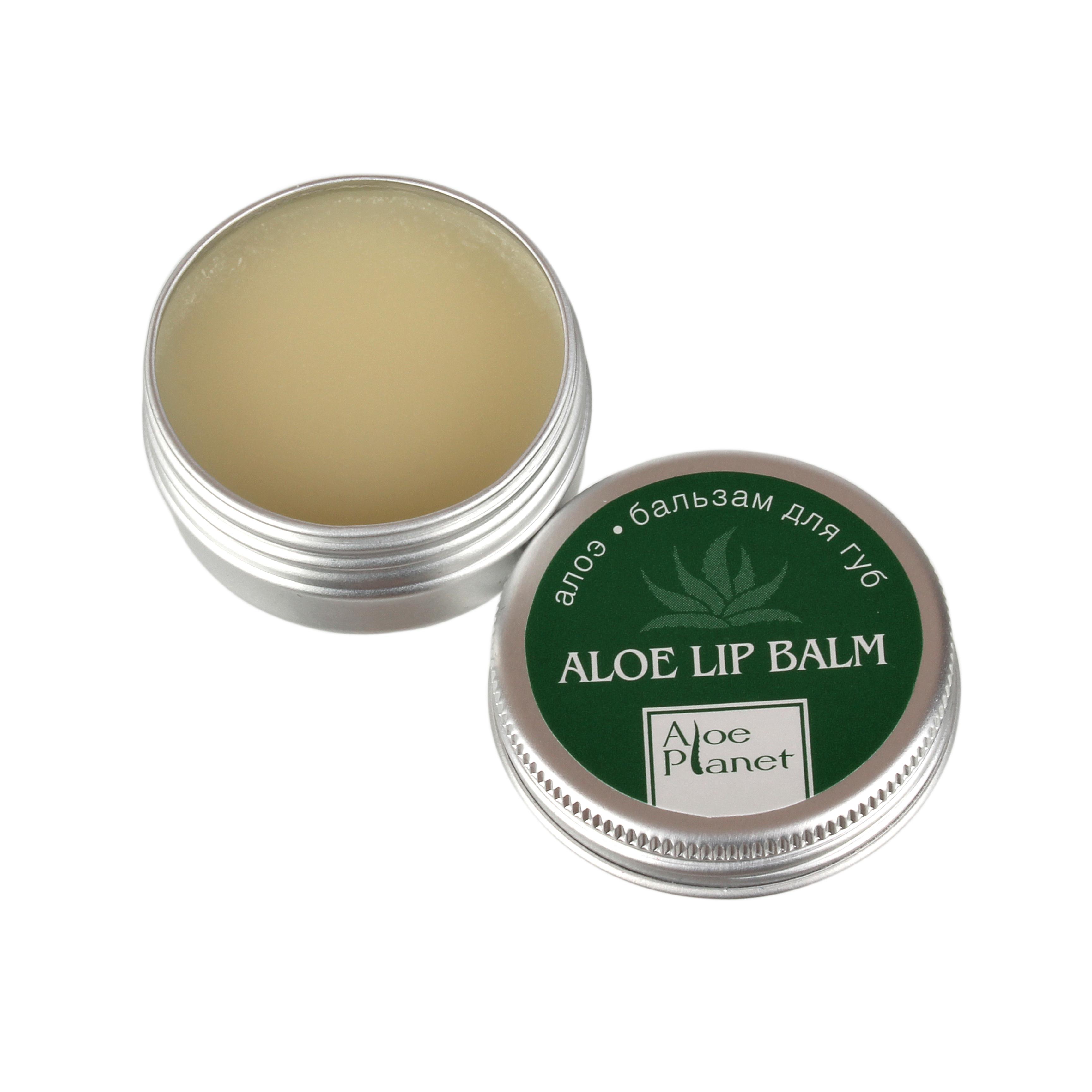 ALOE PLANET Бальзам-алоэ для губ 12 мл -  Бальзамы для губ