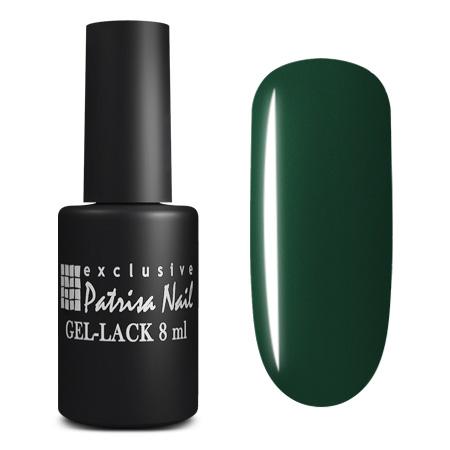 Купить PATRISA NAIL 176 гель-лак для ногтей, глубокие темные оттенки / Axios Gel 8 мл, Зеленые