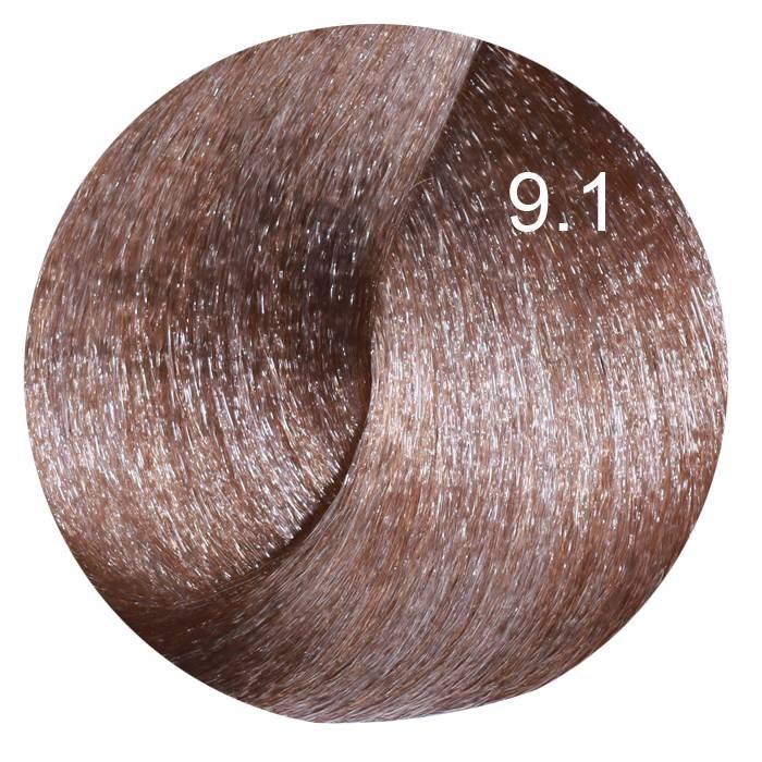 FARMAVITA 9.1 краска для волос, очень светлый блондин пепельный / LIFE COLOR PLUS 100 мл