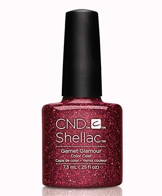 CND 91257 покрытие гелевое / Garnet Glamour SHELLAC Starsrtuck 7,3 мл cnd 91259 покрытие гелевое blushing topaz shellac starsrtuck 7 3 мл