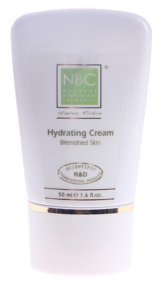 NBC Haviva Rivkin Крем увлажняющий для проблемной кожи / Hydratinq Cream for Blemished Skin 50млКремы<br>Крем нового поколения, специально разработанный для ухода за проблемной и жирной кожей подростков.Активные ингредиенты: комплекс смягчающих ингредиентов, в том числе аллантоин и экстракт ивы канадской, а также компоненты, способствующие поддержанию здорового состояния кожи, такие как саркозин, экстракт корицы, антиоксиданты (производные витамина Е и фитиновая кислота).Способ применения: применять утром и вечером на очищенную кожу. Небольшое количество втереть нежно в кожу до полного впитывания. Рекомендуется использовать крем после полного курса лечения по системе NBC Хавива Ривкин. Отступление от лечения не гарантирует результата.<br><br>Вид средства для лица: Увлажняющий