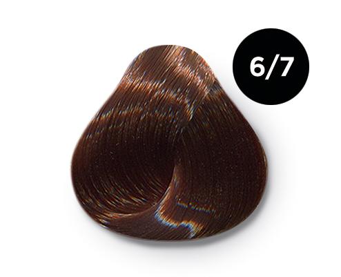 OLLIN PROFESSIONAL 6/7 краска для волос, темно-русый коричневый / OLLIN COLOR 60 мл