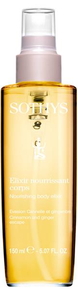 Купить SOTHYS Эликсир насыщенный с корицей и имбирем для тела / AROMA SOTHYS 100 мл