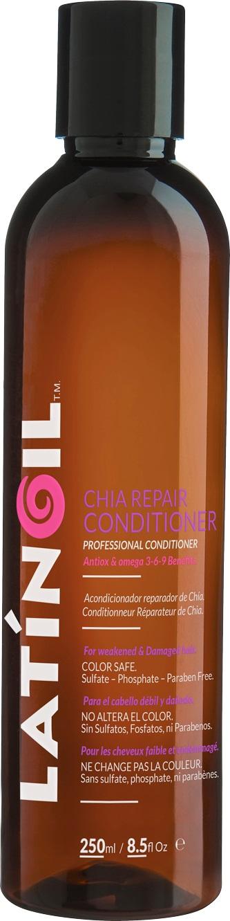 LATINOIL Кондиционер восстанавливающий с маслом чиа / CHIA REPAIR CONDICIONER 250 мл -  Кондиционеры