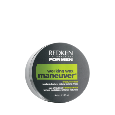 REDKEN Воск для пластичной фиксации без блеска Маневр/ FOR MEN 100млВоски<br>Воск средней фиксации Redken For Men Maneuver Wax предназначен для средней фиксации стрижек. Средство смягчает волосы и делает их пластичными. C помощью воска Redken For Men Maneuver Wax вы можете менять свой стиль хоть каждый день! После применения воска средней фиксации Redken For Men Maneuver Wax волосы легко укладываются и надежно фиксируются, какую бы необычную прическу вы не придумали. Активный ингредиент: Пантенол. Способ применения: Нанесите небольшое количество воска Redken For Men Maneuver Wax на сухие или влажные волосы и сделайте укладку, как обычно.<br><br>Пол: Мужской