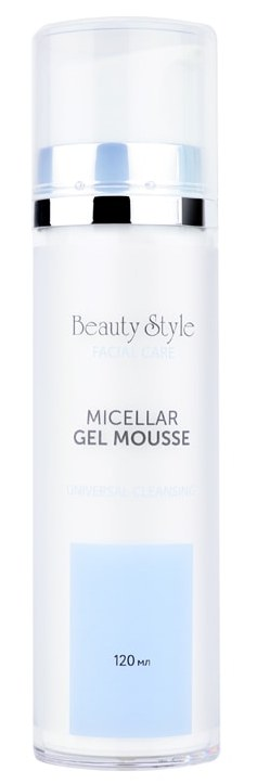 Купить BEAUTY STYLE Гель-мусс мицеллярный очищающий для всех типов кожи / Cleansing universal 120 мл