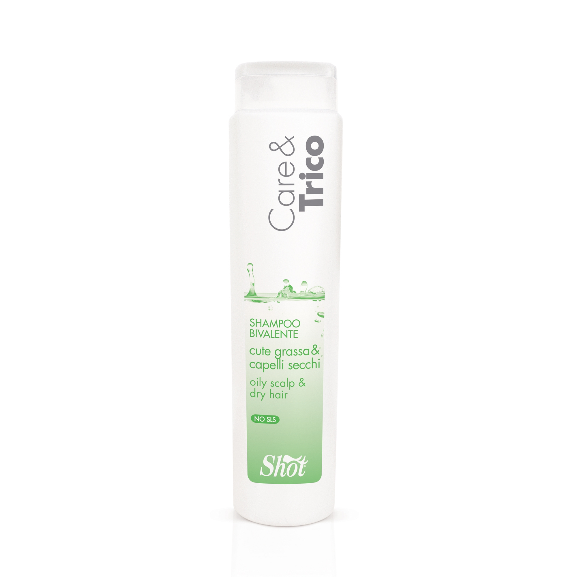 Купить SHOT Шампунь двойного действия для жирной кожи головы и сухих волос / CARE & TRICO 250 мл