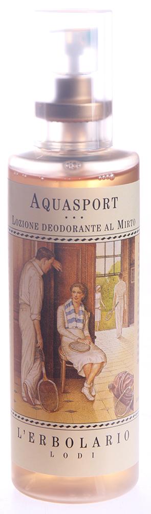 LERBOLARIO Лосьон-дезодорант Спорт 100 млТело<br>Приятный лосьон с легким запахом, который помогает сохранять свежесть тела даже в моменты повышенной физической нагрузки. Лосьон  Спорт  надежно устраняет неприятный запах, не нарушая естественную флору кожи.<br>